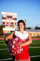 Hoisington Middle School Cheerleaders